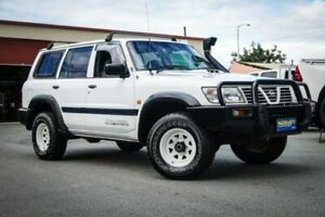 2001 Nissan Patrol GU II DX White 5 Speed Manual Wagon Coopers Plains Brisbane South West Preview
