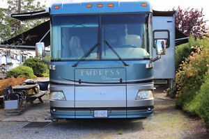2007 TRIPLE E EMPRESS ELITE 4002 2 SLIDES DIESEL PUSHER