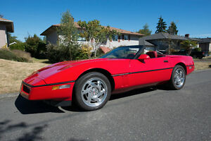 1990 CORVETTE CONVERTIBLE (Excellent Condition)