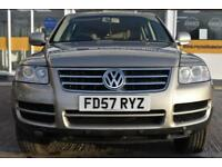 BAD CREDIT CAR FINANCE 2007 57 VW TOUAREG 3.2 V6 SPORT AUTOMATIC
