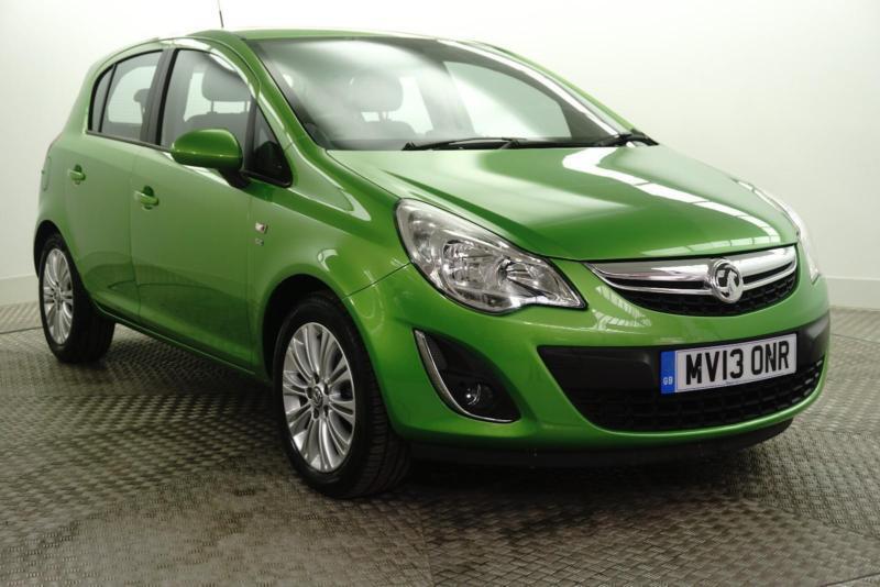 2013 Vauxhall Corsa SE CDTI Diesel green Manual