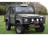 Land Rover Defender 90 3.5 V8 Ex MOD Hard Top