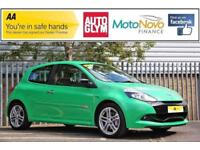 2009 Renault Clio 2.0 VVT Renaultsport 3dr Petrol green Manual