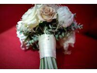 High Quality Artificial Bridal & Bridesmaid Bouquets (wedding flowers)