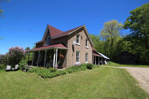 6 Bedroom Country Home Surrounded by 100+ Acres of Privacy