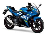 Suzuki GSX 250R LOW RATE FINANCE 3 APR, FREE UK MAIN LAND DELIVERY