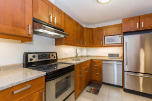 No Rear Neighbors/ Updated kitchen and 2 full washrooms Townhome