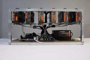 Mining rig -- Ethereum 200 MH/s