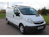 Vauxhall Vivaro 2.0CDTi ( EU V ) 2900 LWB 61 Reg Diesel Van £6,895 + VAT