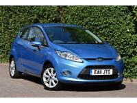 '11' Ford Fiesta 1.25 ( 82ps ) Zetec 3dr A/C ONLY 54,000 MILES