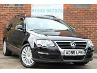 Volkswagen Passat Estate 2.0TDI CR 140ps Highline Manual Diesel in Black