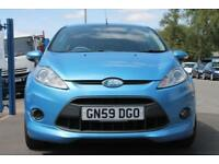 2010 FORD FIESTA ZETEC S 120 3 DOOR MANUAL 1.6 PETROL