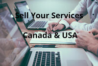 Sell Your Services Canada & USA