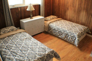 Downtown Yellowknife Furnished rooms for rent short term lease