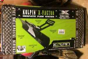 Kolpin X factor complete plow system for atv