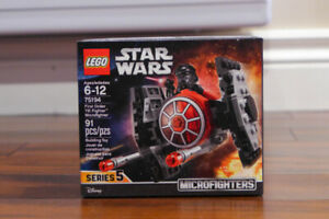 NEW Lego Star Wars First Order TIE Fighter Microfigther