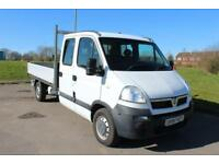Vauxhall Movano 2.5 Crew Cab Dropside Truck Low Mileage Diesel