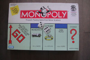 Monopoly Property Trading Game Hasbro Parker Brothers not Comple