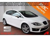 2012 Seat Leon 2.0TDI CR (140ps) FR-B.TOOTH-P. SENSORS-AUTO LIGHTS-CRUISE-S.H.