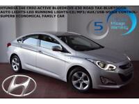 2013 Hyundai i40 1.7CRDi (114bhp) Active-BLUETOOTH-FULL SERVICE HISTORY-£30 TAX