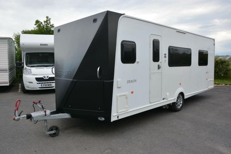 2010 Dunster House Stealth X58 SE-L 4 Berth Touring Caravan