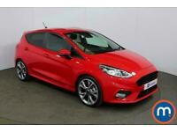 2020 Ford Fiesta 1.0 EcoBoost 125 ST-Line X Edn 5dr Auto [7 Speed] Hatchback Pet