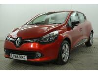 2014 Renault Clio DYNAMIQUE MEDIANAV Petrol red Manual