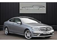 2013 '63' Mercedes C Class C220 CDI Diesel 7G-Tronic AMG Sport Coupe Pan Roof