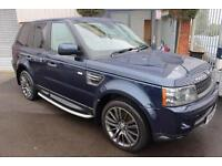Land Rover Range Rover Sport TDV6 HSE-SIDESTEPS-IVORY LEATHER & SATNAV.