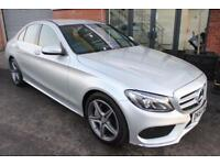 Mercedes C250 BLUETEC AMG LINE-P/SENSORS-HEATED LEATHER-CRUISE CONTROL
