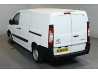 TOYOTA PROACE 2.0 HDI 1200 127 BHP L2 H1 LWB LOW ROOF A/C