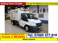 2008 - 58 - FORD TRANSIT T350 2.4TDCI 115PS RWD KERBSIDE RECYCLER & TIPPING BODY