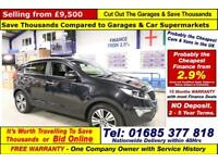 2014 - 64 - KIA SPORTAGE KX-3 2.0CRDI AWD 5 DOOR ESTATE (GUIDE PRICE)