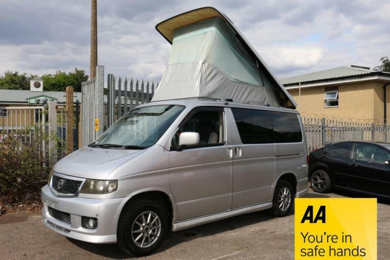 929fc55abc Mazda Bongo FRIENDEE AUTO Camper Van 4 Berth Electric Elavating Roof 8  seater