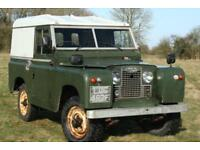 "Land Rover Series 2a 88"" Diesel Hard Top"