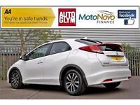 2013 Honda Civic 1.6 i DTEC SE-T Hatchback 5dr Diesel white Manual
