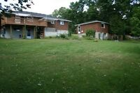 3 Bdrm bungalow, pond, Clarington, private with great views!