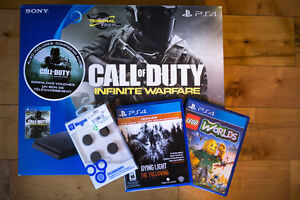 PS4 Slim 500GB -  NEW - with games bundle