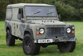 Land Rover Defender 110 3.5 V8 Ex MOD Hard Top