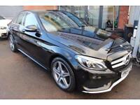 Mercedes C220 BLUETEC AMG LINE PREMIUM PLUS-PANORAMIC SUNROOF-SAT NAV