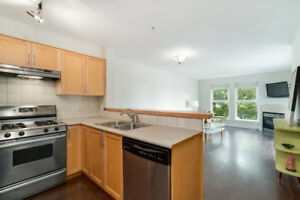 1 Bed + Den(645 sq.ft) in Kitsilano w/ Parking