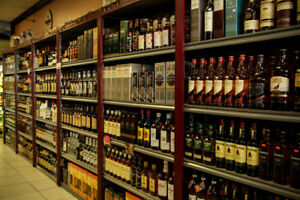 Liquor Store for Sale in Brooks, Price reduced!