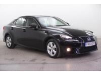 2013 Lexus IS 300H SE PETROL/ELECTRIC black CVT