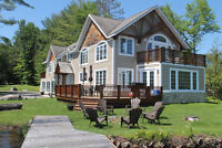 Incredible Lake Muskoka Cottage with an Amazing Rental Revenue