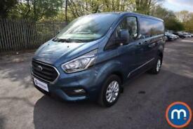 2020 Ford Transit Custom 2.0 EcoBlue 130ps Low Roof Limited Van Auto Van Diesel