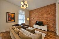 Magnifique appartement très design et rénové