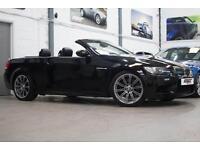 BMW M3 Convertible DCT, 08 Reg, Only 37k, Black, Sat Nav, Black Leather, FSH.