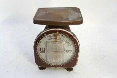 Vintage Pelouze Postal Scale Y Line Model Y-10 10-lb X 1 Oz. 1978 El1045067