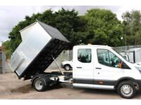 2016 Ford Transit DRW Double Cab 1-Way Tipper 350 L3H1 Arb Body Waste Clearance