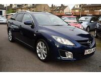 2010 Mazda Mazda6 2.2TD Sport 185 ESTATE, Manual, Diesel, Estate, Blue met